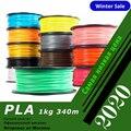 PLA! Wiele kolorów YOUSU filament z tworzywa sztucznego do drukarki 3d ANET/1 kg 340 m/PETG/NYLON/drewno/wysyłka węgla z moskwy