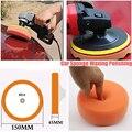 3 stücke Auto Polieren Waxing Polieren Pad Kit Verbindung Schwamm Schaum Auto Polierer Werkzeug-in Polierer aus Werkzeug bei