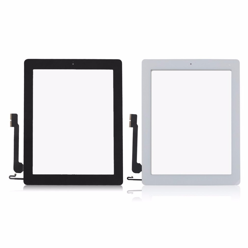 Replacement Tablet Front Screen For IPad 4 Durable Touch Screen Digitizer Tablet PC Display Module Portable Replacement Part