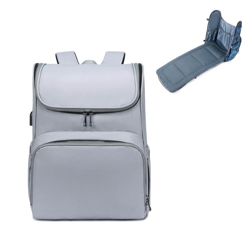 Купить сумка для подгузников рюкзак складная детская кровать многофункциональная