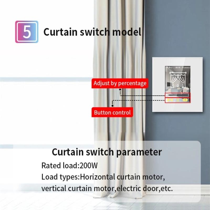 inteligente sem fio interruptor de parede luz
