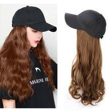 Парик из синтетических волос с длинной волной 22 дюйма париком