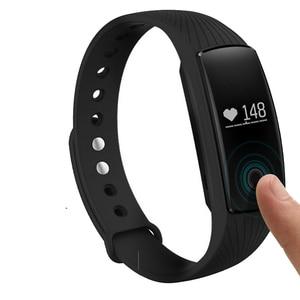 Image 2 - PK ID107 Herz Rate Smart Armband Uhr Herz Rate Monitor Pedometer Smart Band Wireless Fitness Tracker Armband