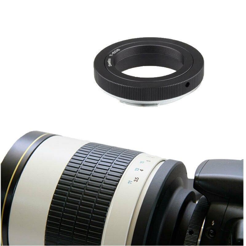 Jintu 500 мм f/63 телефото зеркальный объектив + t2 адаптер