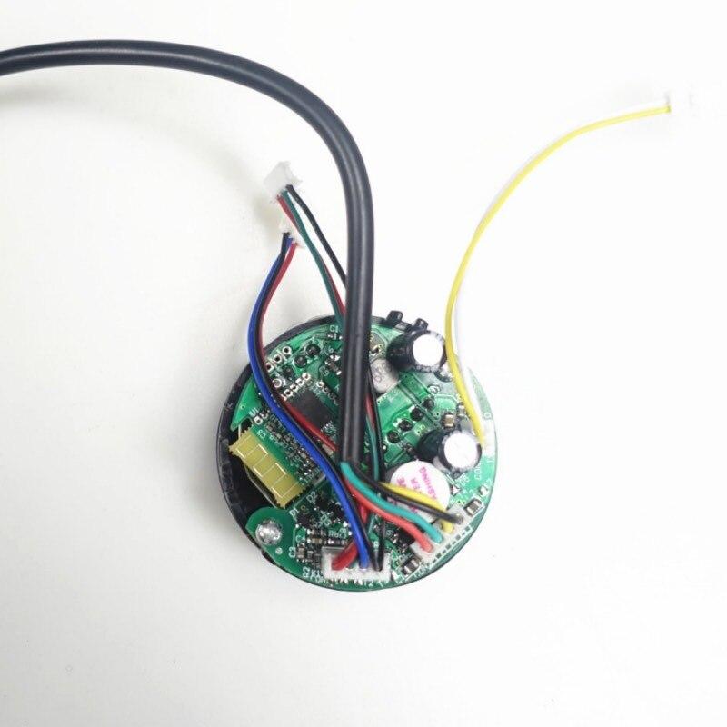 Painel para Ninebot ES1 ES2 ES3 ES4 Kickscooter Elétrica Scooter Peças Visor Do Painel de Placa de Circuito Placa do Traço Kit de Acessórios