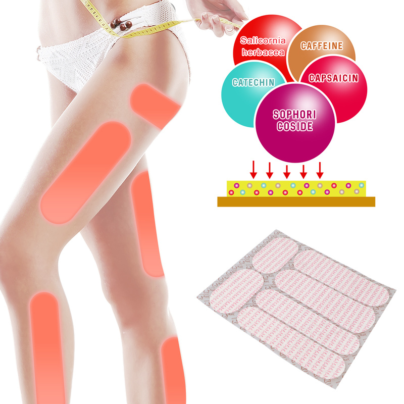 18pcs Mymi Slimming Wonder Patch For Legs Arm Slim Patch Weight Loss Fat Burning Anti Cellulite Lose Weight Patches Leg Fat