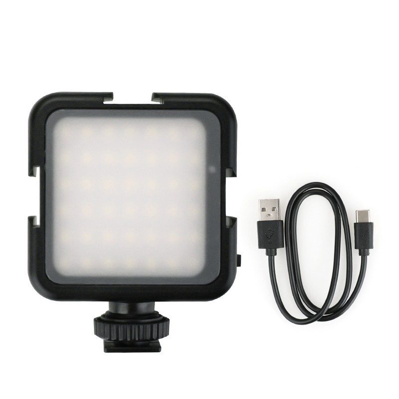 Pocket Expansion Kit LED Lights Fill Light Flash For DJI OSMO Pocket / Gopro / Osmo Action Accessories Universal 1/4 Interface