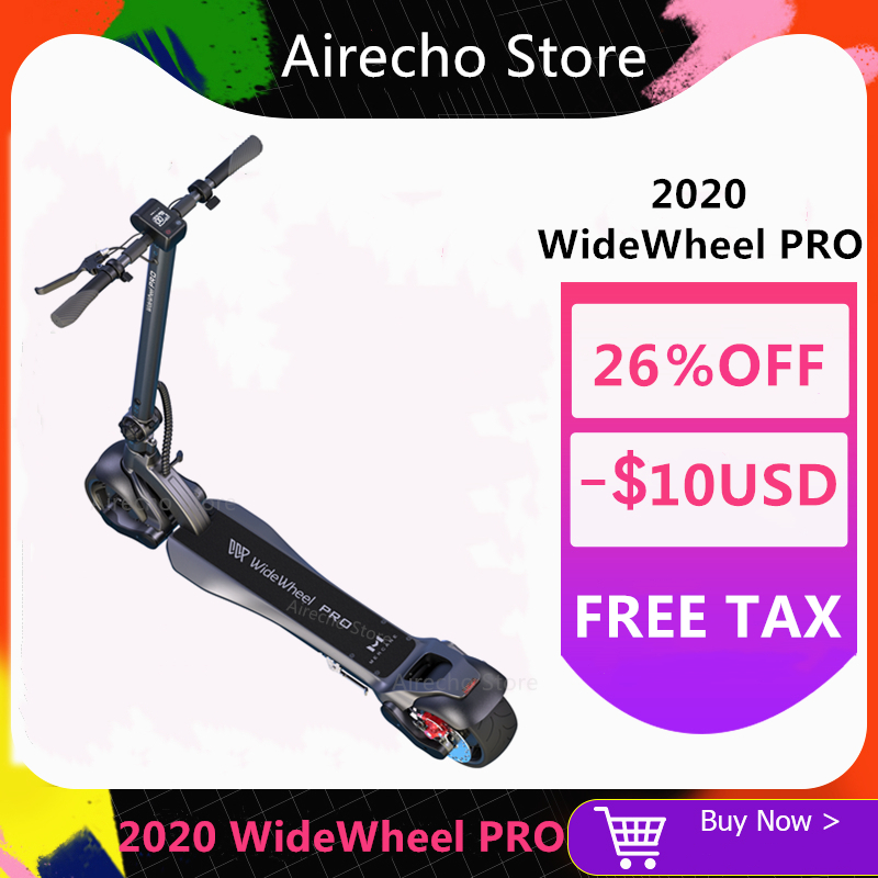 2020 NEW Mercane WideWheel Pro Kickscooter 48V 1000W Smart Electric Scooter Wide Wheel Dual Motor Disc Brake Hoverboard