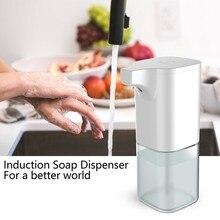 Интеллектуальный дозатор жидкого мыла, автоматический, для ванной, кухни, Бесконтактный, Индукционная пена, инфракрасный датчик, мыло для рук, для мытья