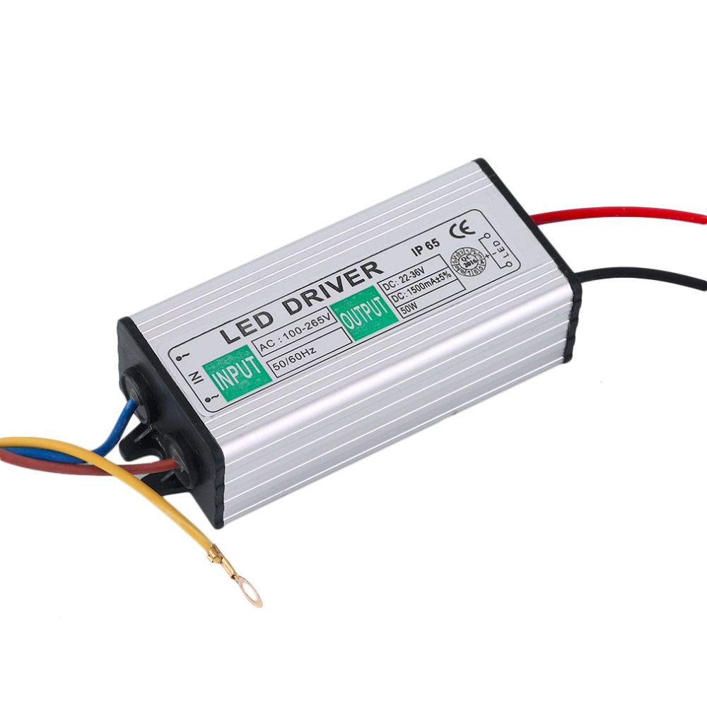 Strip Lights  50W LED SMD Chip Bulbs With High Power50W LED Driver Supply Power Supply Switch For LED Strip Lights