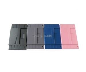 Image 5 - الولايات المتحدة الإصدار لعبة خرطوشة البلاستيك قذيفة 16 بت بطاقة الألعاب الإسكان الحال بالنسبة SNES/S FC مع 2 مسامير