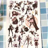 1 Set Nier: Automata Tattoo Sticker Anime Stickers Kids Tattoo Toys