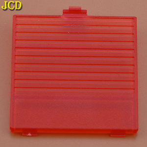 Image 2 - JCD 1pcs For Nintend Game Boy Battery Cover Case Lid Door Replacement for GB console battery Back door cover
