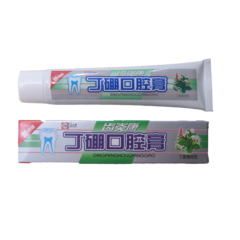 Traditional Chinese Medicine Oral Clove Mint Toothpaste 55g Antimicrobial Hemostasis Eliminate Mouth Odor Periodontitis