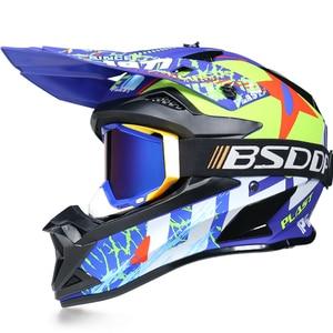 Image 3 - Motosiklet yetişkin motocross Off Road kask ATV kir bisiklet yokuş aşağı MTB yarış kask çapraz kask capacetes