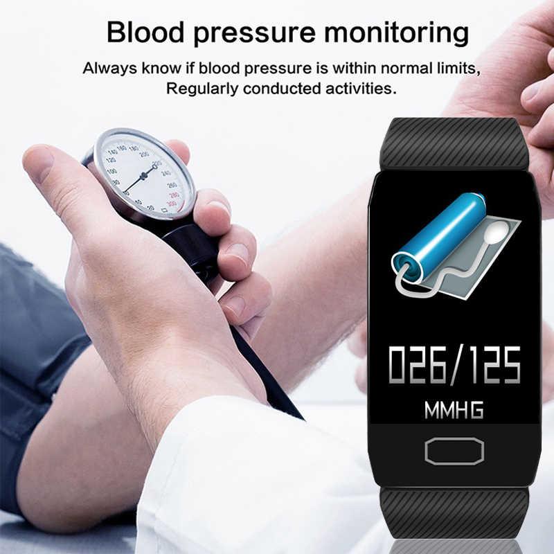 Новые спортивные водонепроницаемые Смарт-часы для мужчин и женщин смарт-браслет Bluetooth монитор сердечного ритма фитнес-трекер Смарт-часы android