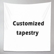Custom Tapestry Blanket Witchcraft Wall-Hangings Photo-Hippie Print Your