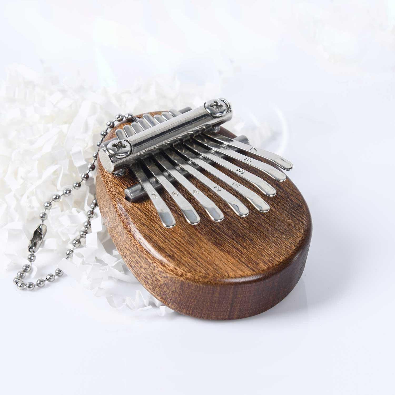chave mini kalimba piano de polegar presente
