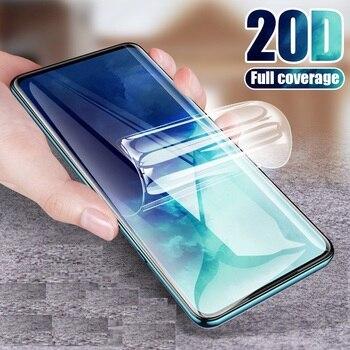 Перейти на Алиэкспресс и купить 9D полное покрытие для Motorola Moto One Zoom защита экрана Гидрогелевая пленка защитная пленка для Motorola Moto Macro Not glass