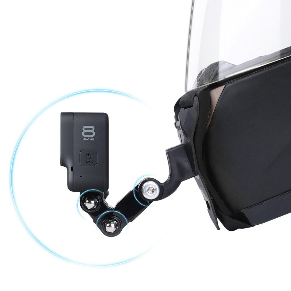 מעמד מצלמת אקסטרים לסנטר קסדת אופנוע  3
