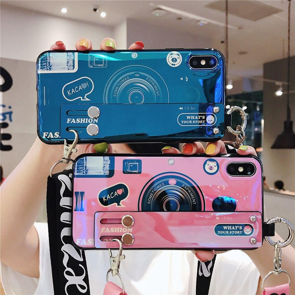 Funda de teléfono de cámara para Samsung Galaxy A10 A20 A30 A50 A60 A70, fundas de silicona suave brillante, funda coque con correa, pulseras, cordón Bling lentejuelas plata línea caso para Samsung Galaxy A50 A10S S20 S8 S9 S10 A10S A30 A40 A70 A6 A7 2018 A9 Nota 10 Plus Nota 9 cubierta