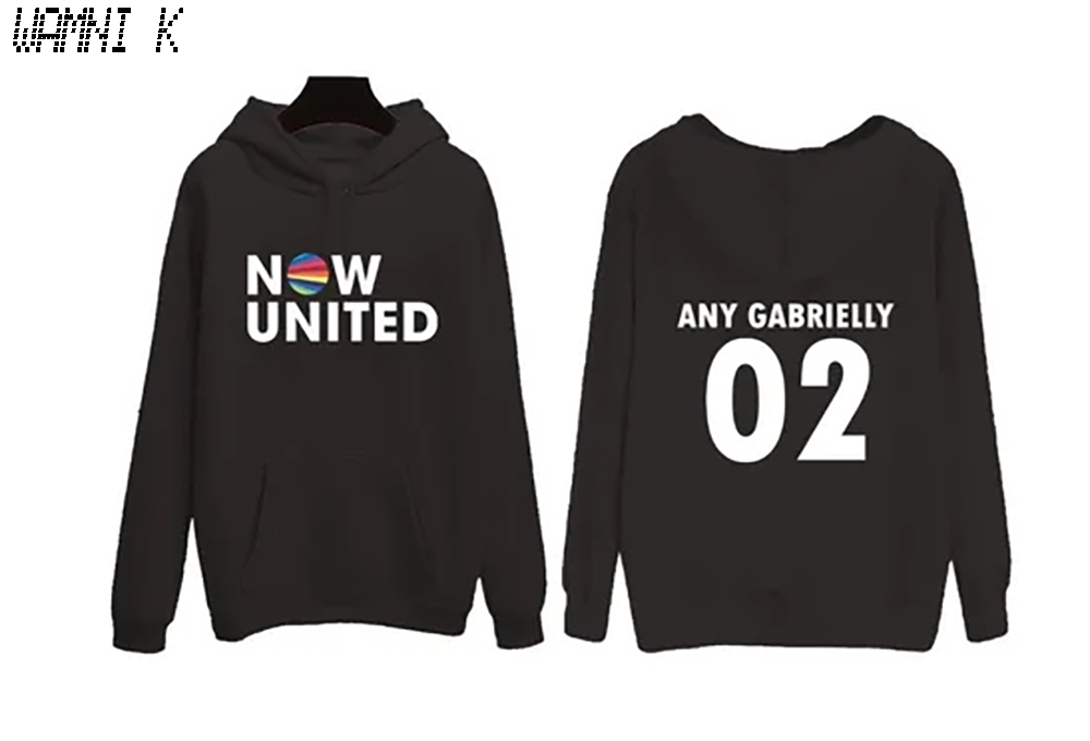 WAMNI 2020 Now United Hoodie Sweatshirts Men Women Brasil Any Gabrielly 02 Pullover Unisex Harajuku Tracksui