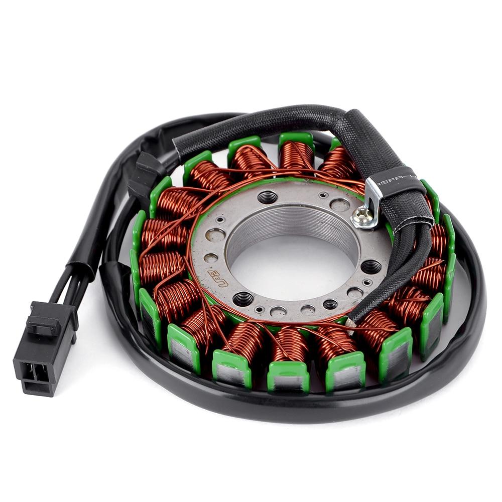bobina de ignicao do estator magneto da motocicleta para kawasaki zrx400 zr400 zrx ii ninja