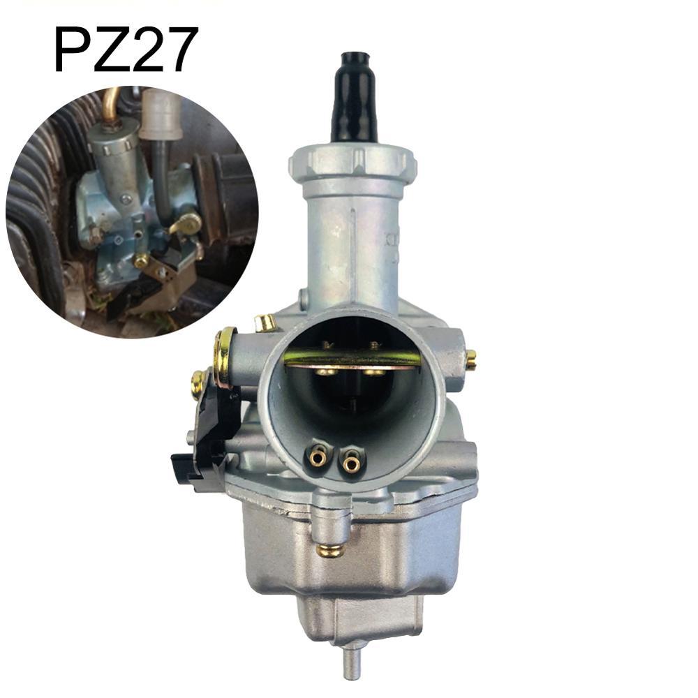Карбюратор PZ27 серебристый для мотоцикла Honda CG125 для 175CC 200cc 250cc мотоцикла внедорожника автомобильные аксессуары