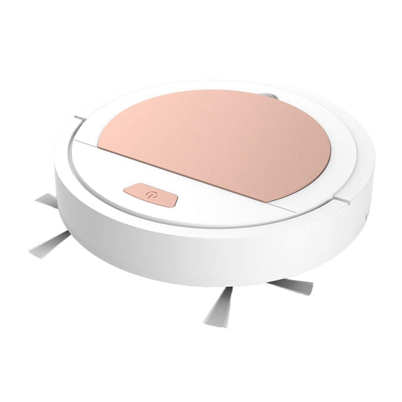 USB Charging Smart Robot Vacuum Cleaner, Creative Gift Automatic Cleaning Machine Robotic Vacuum for Household Dust Removal