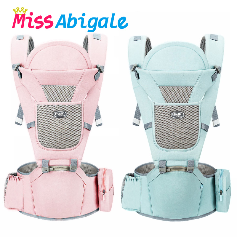 MissAbigale Ergonomic New Born Baby Carrier Infant Kids Backpack Hipseat Sling Front Facing Kangaroo Baby Wrap for Baby Travel|Backpacks & Carriers| |  - AliExpress