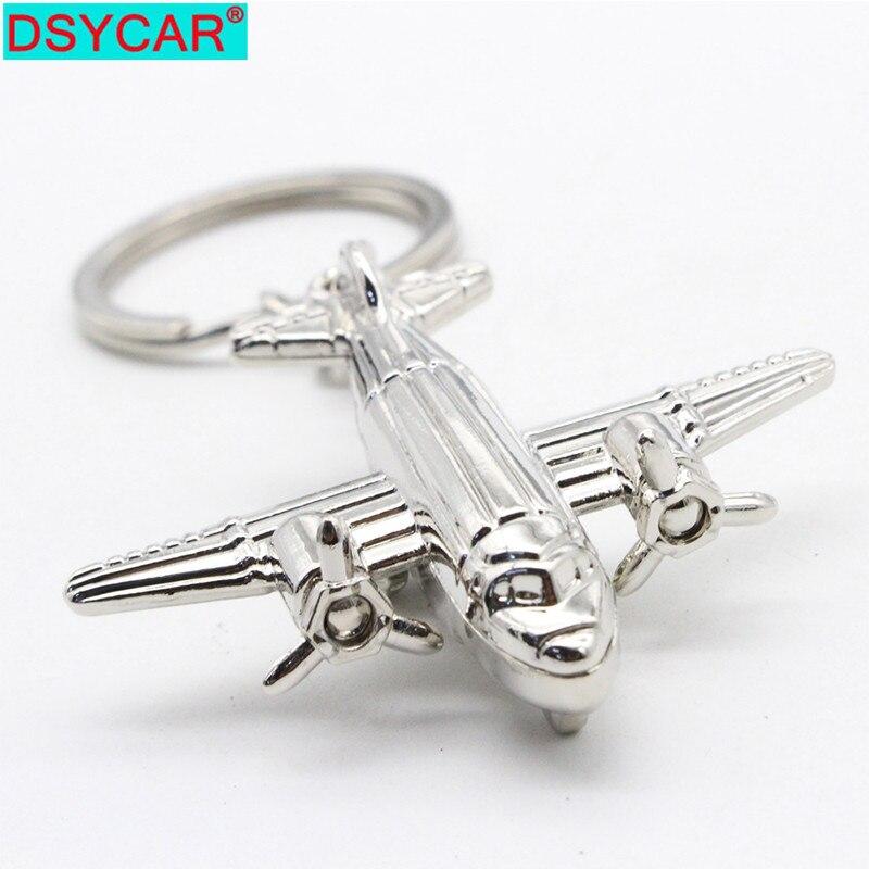 DSYCAR 1Pcs Keyring Keychain Ornament Door Car Key Rings Chain Supplies Women Men Fashion Jewelry Car-styling Bag Purse