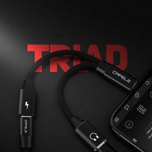 Image 3 - Кабель адаптер CAFELE для iphone 7, 8 plus, 11 pro, X, Xr, Xs Max, USB OTG, IOS, конвертер для наушников