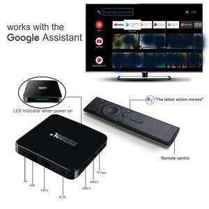 Image 3 - Android 10.0 Amlogic S905X2 ses kontrolü akıllı TV kutusu dört çekirdekli 4GB/64GB Set üstü kutusu 2.4G & 5G Wifi 4K medya oynatıcı Mecool KM3