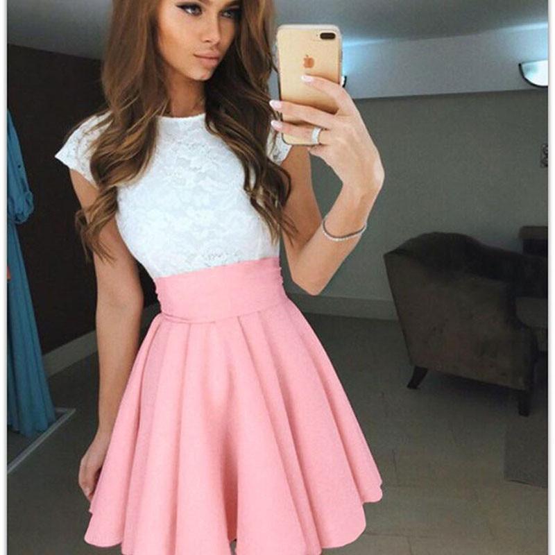 Женская модная плиссированная юбка, юбки для школьников, Женская Одежда для танцев, короткие юбки бальное платье, пышная юбка