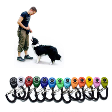 Pet Dog Tranining Clicker Pet Dog Tranining Supply New Dog Pet Clicker Training Aid Wrist Strap Smart Dog Training Accessory