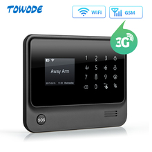 Towode Wireless Home Security Wifi Gsm 3G Gprs App Afstandsbediening Alarmsysteem Panel Met Nl Ru Fr Es se Nl Tr