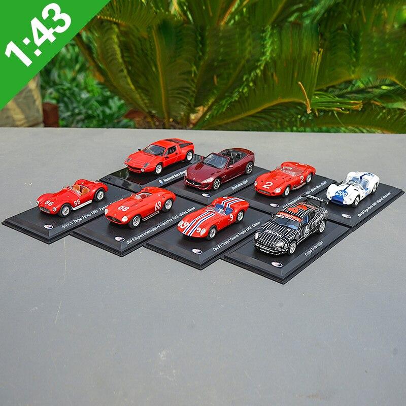 High Meticulous 1:43 IXOMaserati Beat-up Car Alloy Model Car Static High Simulation Metal Model Vehicles