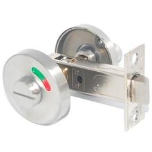 Металлический дверной замок WC ручка туалетной двери замок для ванной комнаты шкаф с узлом металлический замок для туалетной двери