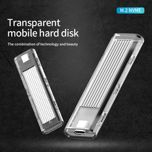M.2 NVME SSD Case for NVME PCIE NGFF SATA M/B Key SSD Disk NVME SSD Enclosure M.2 NGFF to USB3.1 Notebook Hard Disk Box jimier 2 in 1 sata 3 0 to combo m 2 ngff b key