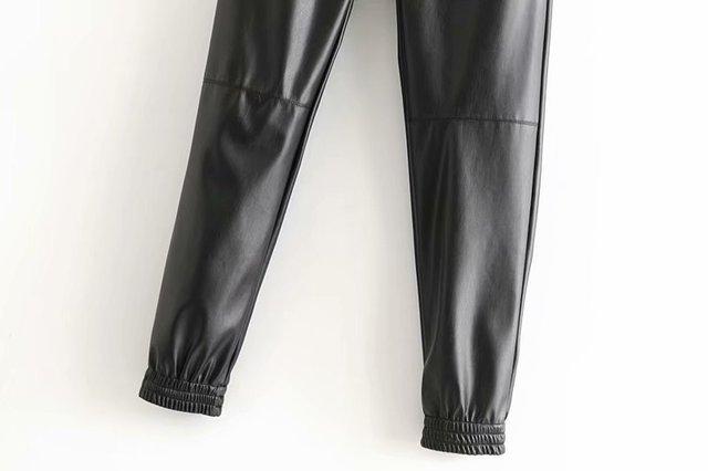 Winter Faux Leather Pants 3