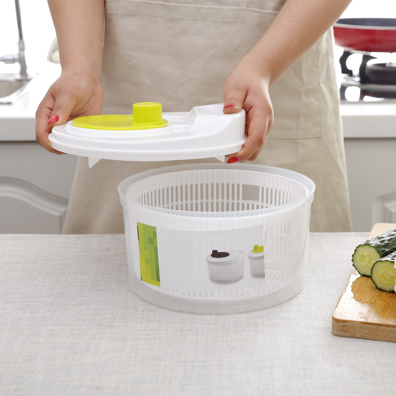 Dryer Washer Salad Spinner Greens Kitchen-Accessories Lettuce Leafy Vegetables for Crisper-Strainer title=