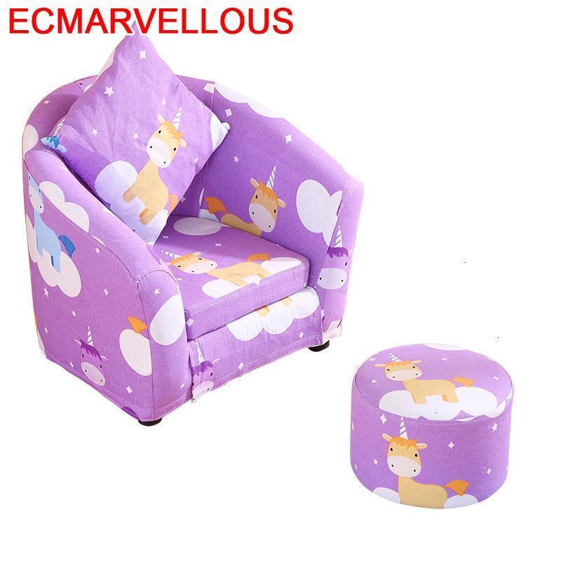 Bimbi Quarto Menino Canape Child Chair Pufy Do Siedzenia Kids Couch Chambre Enfant Dormitorio Infantil Baby Children's Sofa