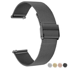 Correa de reloj para Samsung Galaxy Watch 3 Active 2, 22mm, 20mm, correa para Samsung Gear S3, 42mm, 46mm
