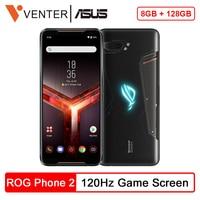 "Global Rom Asus Rog Telefoon Ii ZS660KL Mobiele Telefoon 6.59 ""120Hz Scherm 8 Gb 128 Gb Snapdragon 855 + 6000 Mah 48MP Android 9.0 Nfc-in Mobiele Telefoons van Mobiele telefoons & telecommunicatie op"