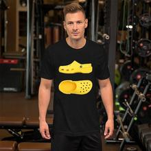 Fitness Yellow Crocs tshirt 3xl 4xl 132xl Formal rick and morty shirt hilarious