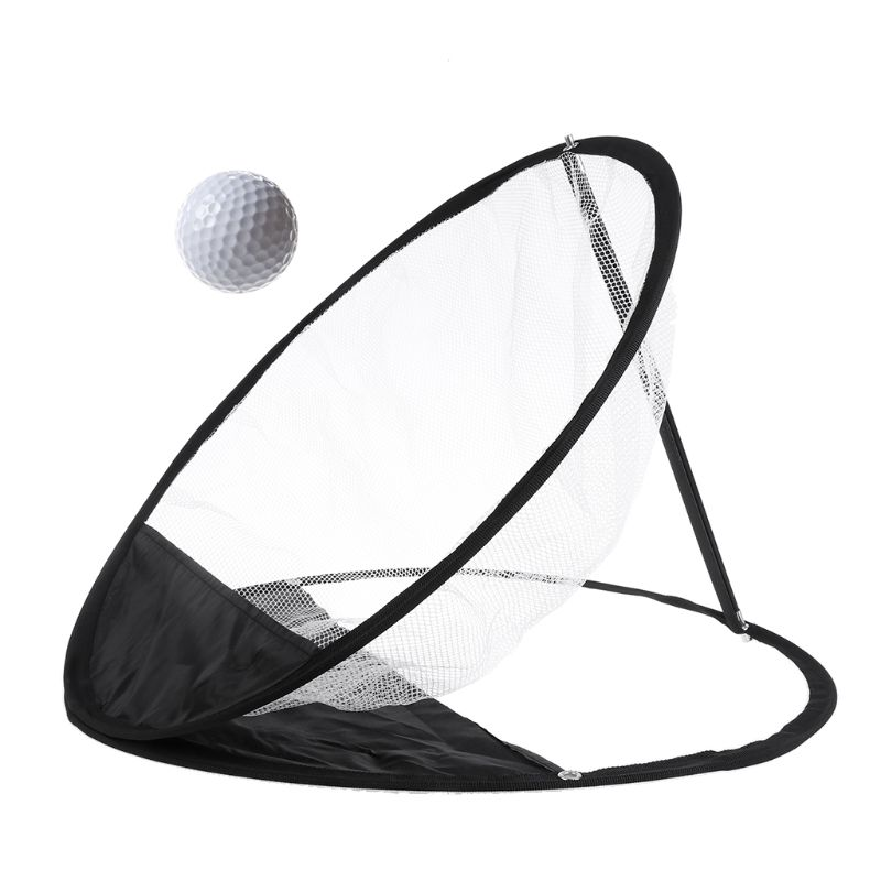 Pop-Up Golf Chipping Net Tainer Aid Foldable Target Net For Accuracy Swing Practice