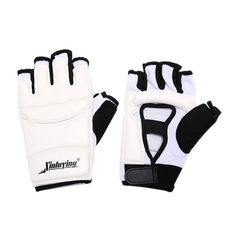 2pcs/pair Hot Sale PU Boxing Half Fingers Adults Boxing Gloves/Kids Sandbag Training /Fitness Protector For Man Women Kids