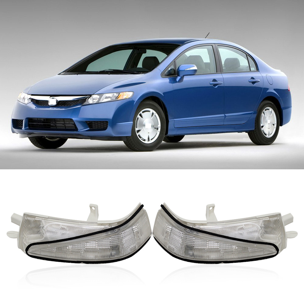 Car rearview Mirror LED Turn Signal Flasher Light Left / Right  For HONDA CIVIC FA1 FD1 FD2 2006 2007 2008 2009 2010 2011