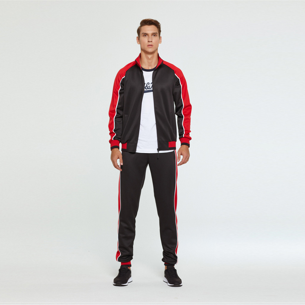2019 New Men's Autumn Hoodies Tracksuit Set Male Sweatshirt Sweatpants Multi-pocket Fashion Trousers High Street Jackets Sets 92