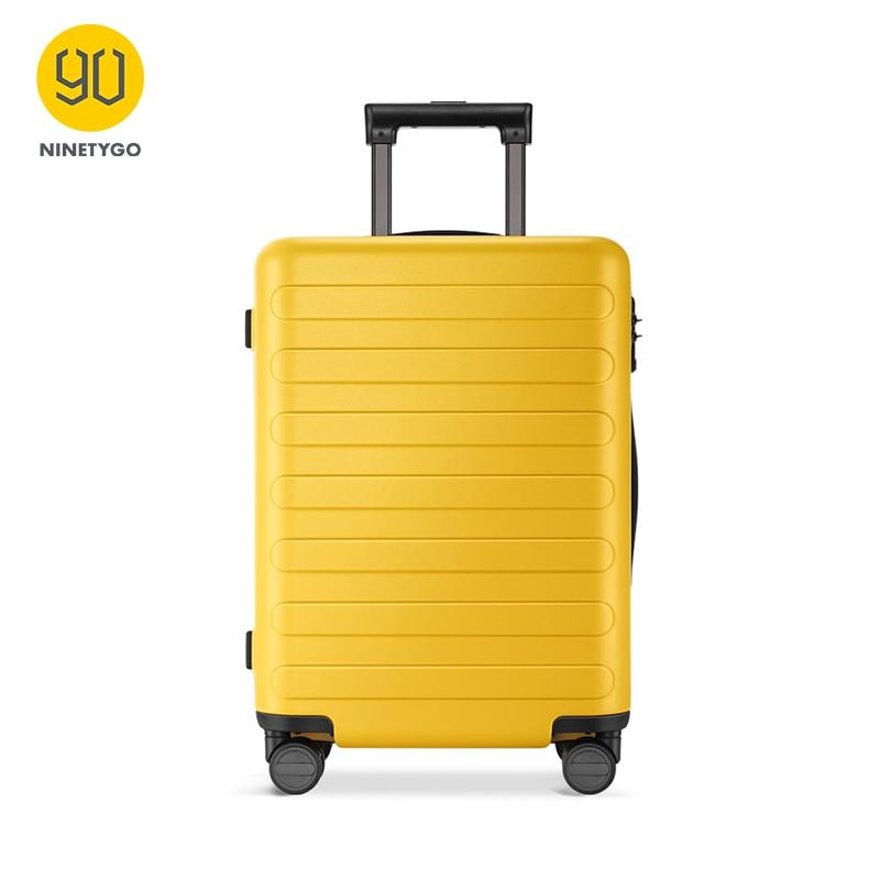 NINETYGO 90FUN PC чемодан, красочные, переносные, вращающиеся колеса, багаж на колёсиках, TSA замок, бизнес, путешествия, отдых для женщин и мужчин
